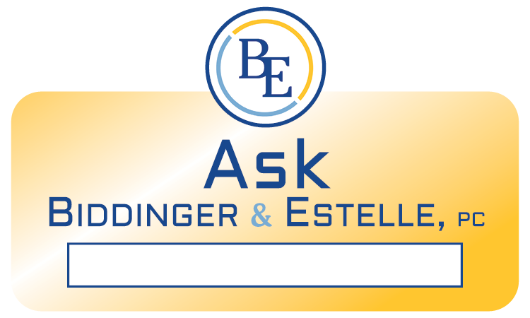 Ask Biddinger & Estelle